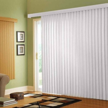 Window Treatment for Sliding Glass Doors Vertical Blinds